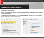 Flash Media Live Encoder #02